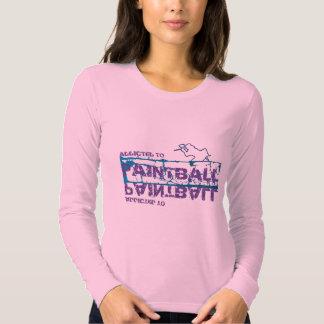 Enviciado a la camisa del chica de Paintball