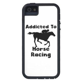 Enviciado a la carrera de caballos iPhone 5 fundas