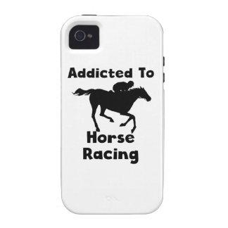 Enviciado a la carrera de caballos Case-Mate iPhone 4 fundas