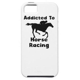 Enviciado a la carrera de caballos iPhone 5 Case-Mate protectores