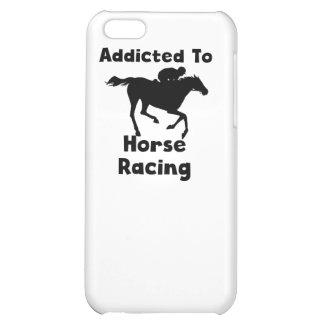 Enviciado a la carrera de caballos