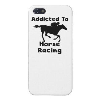 Enviciado a la carrera de caballos iPhone 5 funda