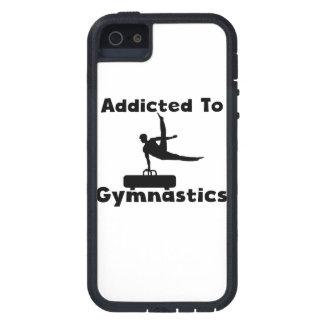Enviciado a la gimnasia iPhone 5 Case-Mate cárcasa