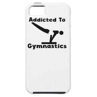 Enviciado a la gimnasia iPhone 5 carcasa