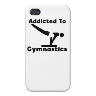 Enviciado a la gimnasia iPhone 4 carcasa