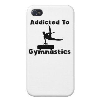 Enviciado a la gimnasia iPhone 4 fundas