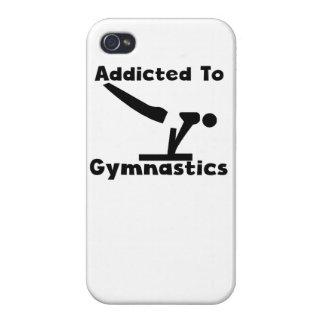 Enviciado a la gimnasia iPhone 4 protector