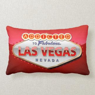 Enviciado a Las Vegas, muestra divertida de Nevada Almohada