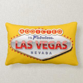 Enviciado a Las Vegas, muestra divertida de Nevada Cojín