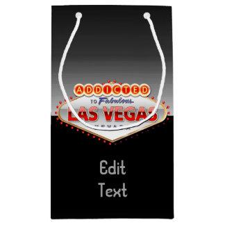 Enviciado a Las Vegas, muestra divertida de Nevada Bolsa De Regalo Pequeña