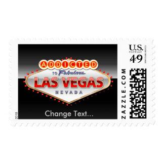Enviciado a Las Vegas, muestra divertida de Nevada Sello