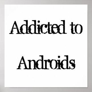 Enviciado a los androides póster