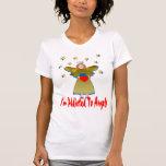 Enviciado a los ángeles camisetas