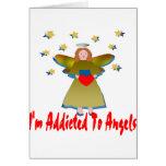 Enviciado a los ángeles felicitacion