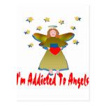 Enviciado a los ángeles postal
