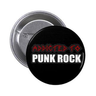 enviciado a los individuos de la música de punk ro pins