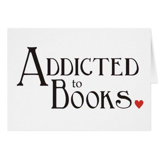 Enviciado a los libros felicitación