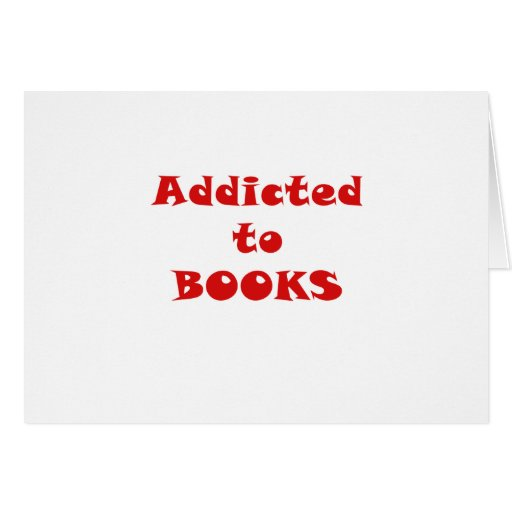 Enviciado a los libros tarjeta