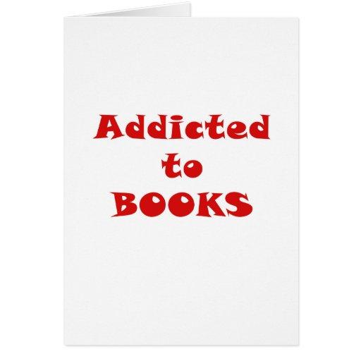 Enviciado a los libros tarjetas