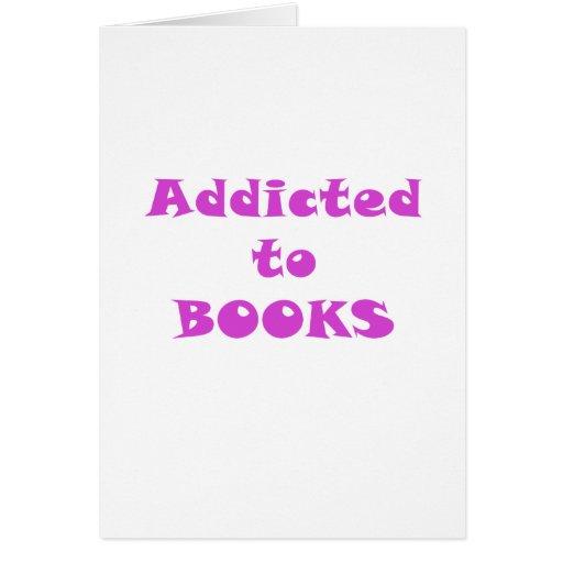 Enviciado a los libros felicitacion