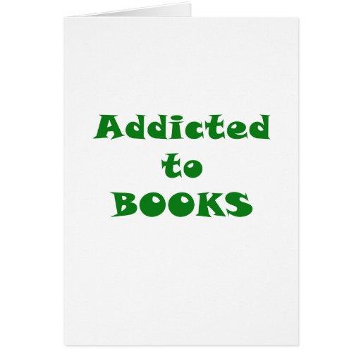 Enviciado a los libros tarjeton