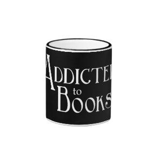 Enviciado a los libros taza de café