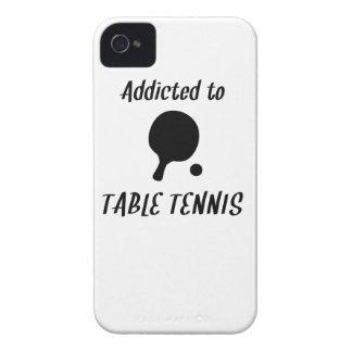 Enviciado a los tenis de mesa Case-Mate iPhone 4 fundas