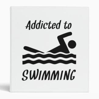 Enviciado a nadar