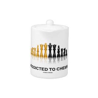 Enviciado al ajedrez (juego de ajedrez reflexivo d