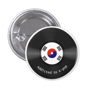 Enviciado al botón de Kpop Pin Redondo De 1 Pulgada
