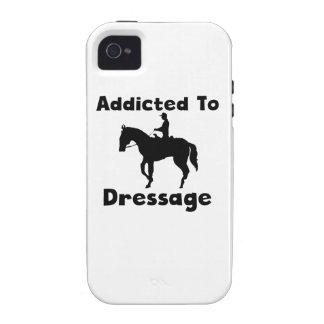 Enviciado al Dressage iPhone 4 Carcasas