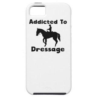 Enviciado al Dressage iPhone 5 Protectores