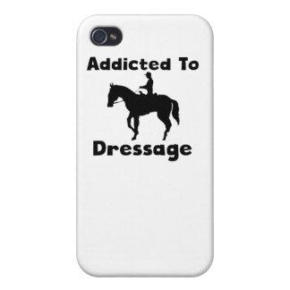Enviciado al Dressage iPhone 4/4S Carcasas