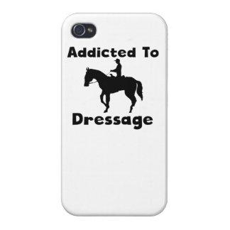 Enviciado al Dressage iPhone 4 Carcasa