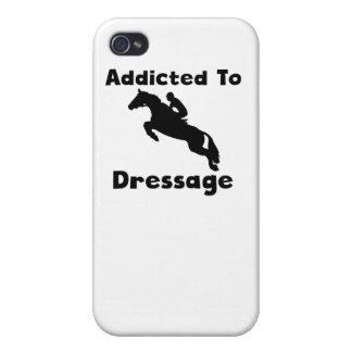 Enviciado al Dressage iPhone 4 Protector