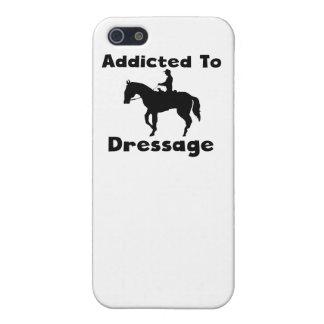 Enviciado al Dressage iPhone 5 Fundas
