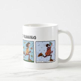 enviciado al funcionamiento (mujer) taza de café