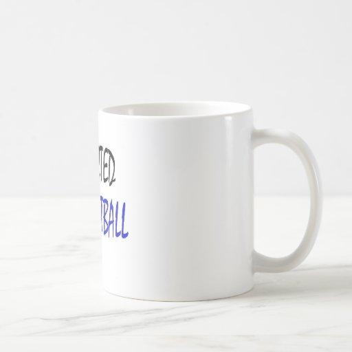 Enviciado al fútbol taza de café