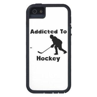 Enviciado al hockey iPhone 5 Case-Mate protectores