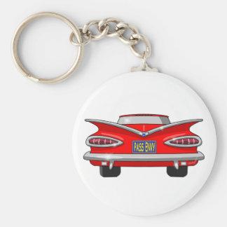 Envidia 1959 del paso del impala de Chevrolet Llavero Redondo Tipo Pin