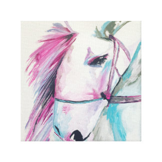 Envidia del caballo impresion en lona
