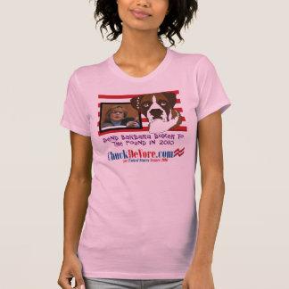 Envíe a Barbara Boxer a la libra en 2010 Camisetas