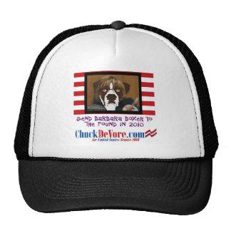 Envíe a Barbara Boxer al gorra de la libra en 2010