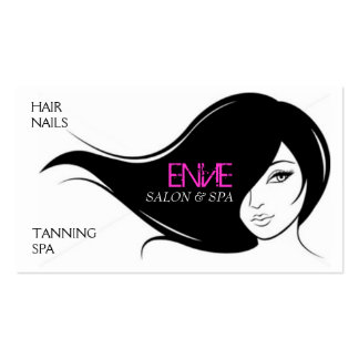 Envie - Hair Salon Business Card
