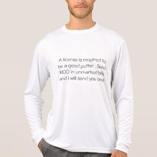 Envíe las cuentas no marcadas camisetas