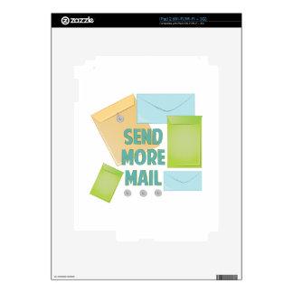 Envíe más correo iPad 2 skins