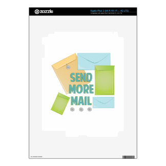 Envíe más correo iPad 3 skin