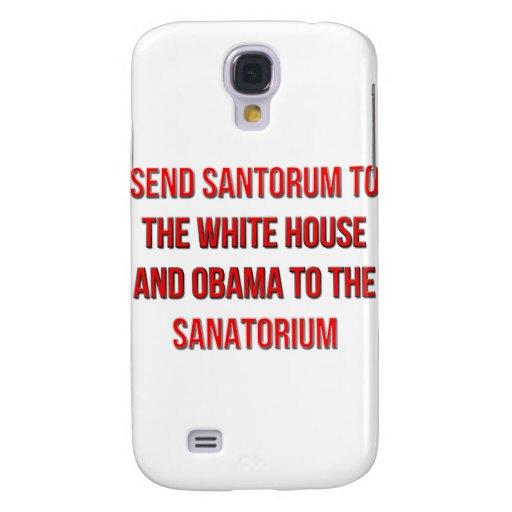Envíe Santorum a la Casa Blanca