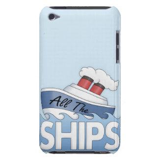 Envíe todas las naves iPod Case-Mate protector