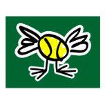 Envíe una postal del tenis por correo